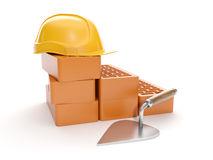 A group of building blocks Stock Photo