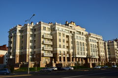 Group of buildings called MILANO QUARTIERE in Astana Stock Photography