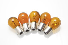 Group bulbs Royalty Free Stock Image