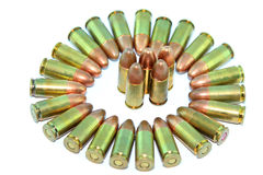 Group Bullets Stock Image