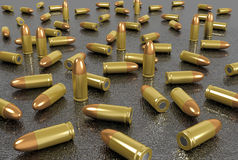 Group of bullets Royalty Free Stock Images