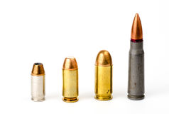 Group of bullets Royalty Free Stock Image