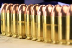 Group of bullets Stock Image