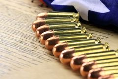 Group of bullets Royalty Free Stock Photo