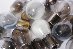 Group of burned out light bulbs. 2. Burned out Royalty Free Stock Image