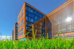 A group of business buildings Royalty Free Stock Images
