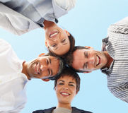 Group of business colleagues Stock Photography