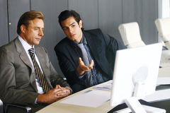 Group of business men zc Stock Image