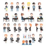 Group of business and office people Royalty Free Stock Photo