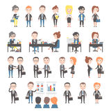 Group of business and office people Royalty Free Stock Images