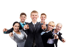 Group of business people Royalty Free Stock Image