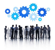 Group of Business People with Business Discussion Royalty Free Stock Photo