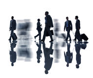 Group of Business People with Business Travel Concept Stock Photo