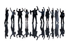Group of Business People Celebrating Success Concept Royalty Free Stock Images