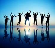 Group of Business People Celebration Success Concept Royalty Free Stock Photos