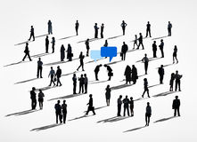 Group of Business People with Communication Concepts Stock Images