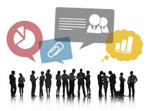 Group of Business People Discussing Business Issues Stock Images