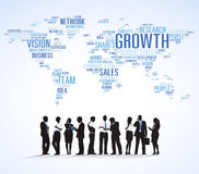 Group of Business People Discussing Business Issues Stock Image