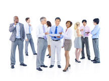Group of Business People Discussion Royalty Free Stock Photo