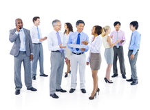 Group of Business People in Discussion Stock Photos