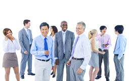 Group of Business People Discussion Royalty Free Stock Photos