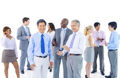 Group of Business People Discussion Royalty Free Stock Images