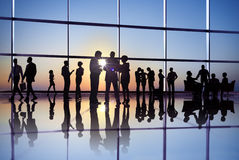 Group of Business People Having Group Discussion Stock Image