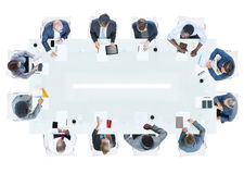 Group of Business People Having a Meeting Stock Photos
