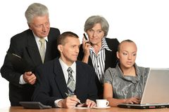 Group of a business people Stock Photo