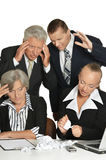 Group of a business people Royalty Free Stock Photos