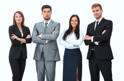 Group of business people. Royalty Free Stock Photo