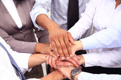 Group of Business People Join the Hand or United Stock Images