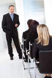 Group of business people at the lecture Stock Photo