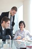 Group of business people at meeting Royalty Free Stock Photography
