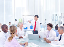 Group of Business People Meeting Stock Images