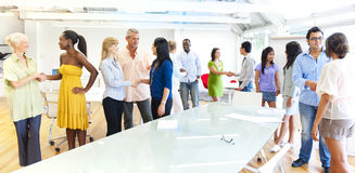 Group of business people meeting.  Royalty Free Stock Photography