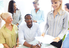 Group of business people meeting Stock Photography