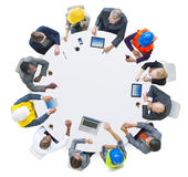 Group of Business People in a Meeting Royalty Free Stock Images