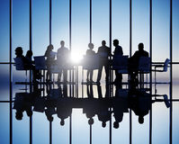 Group of Business People Meeting Royalty Free Stock Image