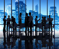 Group of Business People Meeting Royalty Free Stock Photography