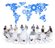 Group of Business People Meeting Royalty Free Stock Images