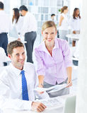 Group of Business People Meeting Stock Photos
