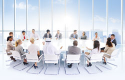 Group Business People Meeting City Concept Stock Photography