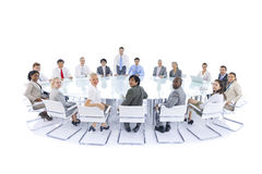 Group of Business People Meeting Concept Stock Photos