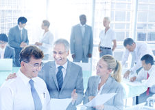 Group of Business People Meeting Conference Concept Stock Photography