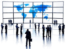 Group of Business People Meeting Global Communication Concept Royalty Free Stock Photo