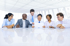 Group of Business People Meeting Insurance Concept Royalty Free Stock Images