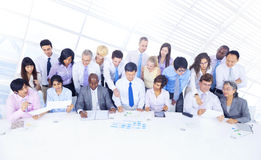 Group of Business People Meeting Insurance Concept Stock Images