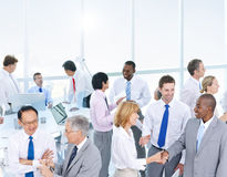 Group of Business People Meeting in the Office Royalty Free Stock Photography