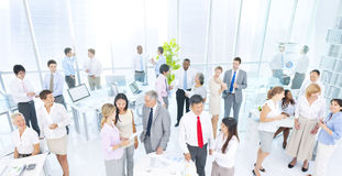 Group of Business People Meeting in the Office Royalty Free Stock Images